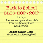 Back To School Blog Hop Introduction